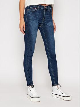Tommy Jeans Tommy Jeans Skinny Fit džínsy Nora DW0DW08623 Tmavomodrá Skinny Fit