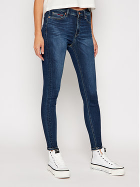 Tommy Jeans Tommy Jeans Skinny Fit džíny Nora DW0DW08623 Tmavomodrá Skinny Fit