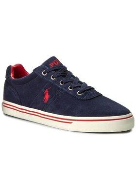Polo Ralph Lauren Polo Ralph Lauren Sneakers aus Stoff Hanford A85 XZ4YQ XY4YQ XW4R7 816641859004 Dunkelblau