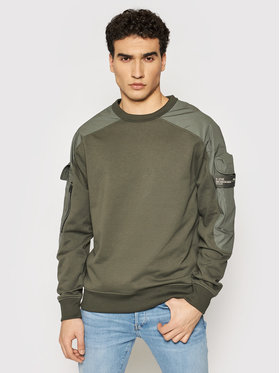 G-Star Raw G-Star Raw Суитшърт Container R Sw D19836-A613-1260 Сив Relaxed Fit