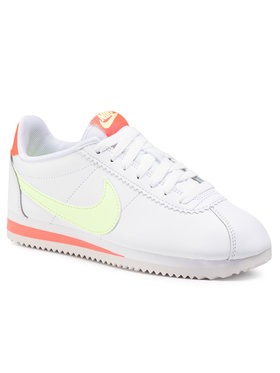NIKE NIKE Παπούτσια Classic Cortez Leather 807471 116 Λευκό