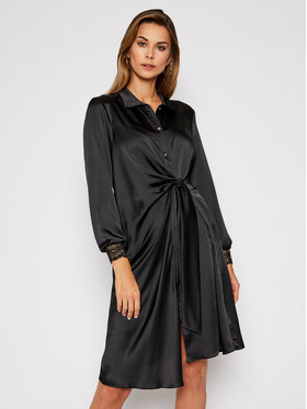 Nissa Nissa Marškinių tipo suknelė RC11486 Juoda Regular Fit