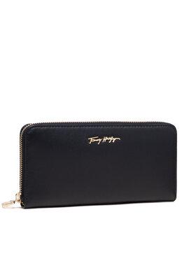 Tommy Hilfiger Tommy Hilfiger Velká dámská peněženka Essential Leather Lrg Za AW0AW10498 Tmavomodrá