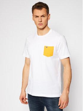 Tommy Jeans Tommy Jeans Póló Contrast Pocket Tee DM0DM10283 Fehér Regular Fit