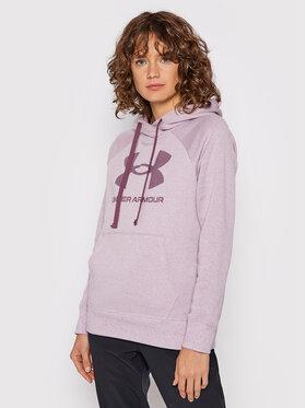 Under Armour Under Armour Sweatshirt Ua Rival Fleece Logo 1356318 Violet Loose Fit