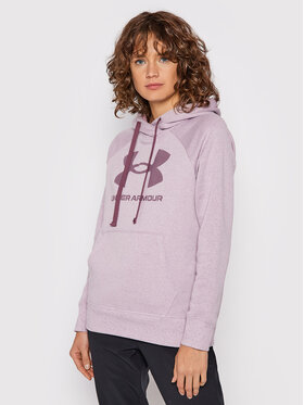 Under Armour Under Armour Sweatshirt Ua Rival Fleece Logo 1356318 Violett Loose Fit