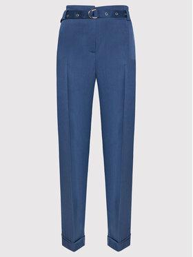 Guess Guess Pantaloni din material Egle W1BB14 W5D20 Bleumarin Regular Fit