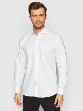 Selected Homme Selected Homme Chemise New Mark 16058640 Blanc Slim Fit