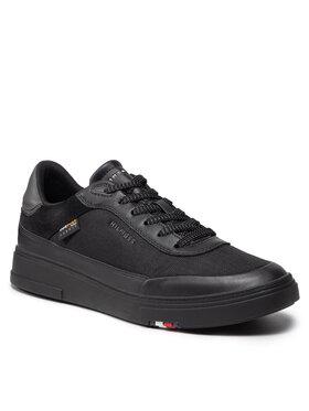 Tommy Hilfiger Tommy Hilfiger Sneakersy Nodern Cupsole Cordura FM0FM03734 Czarny