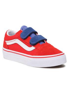 Vans Vans Sneakersy Old Skool V VN0A4BUV33M1 Czerwony