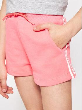 4F 4F Pantaloni scurți sport HJL21-JSKDD002B Roz Regular Fit