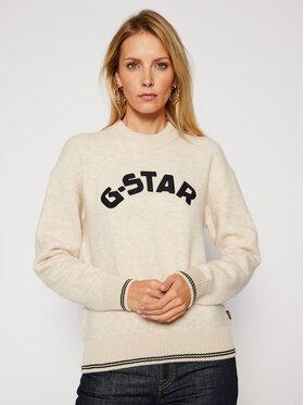 G-Star RAW G-Star RAW Pulover College D17750-C459-1603 Bej Loose Fit
