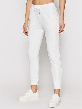 Calvin Klein Jeans Calvin Klein Jeans Teplákové nohavice J20J215551 Biela Regular Fit