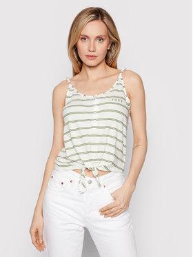 Roxy Roxy Top From Me To You ERJZT05178 Bijela Regular Fit