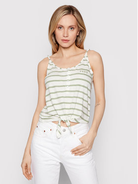 Roxy Roxy Top From Me To You ERJZT05178 Blanc Regular Fit