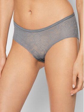 Calvin Klein Underwear Calvin Klein Underwear Klasické nohavičky 000QF5245E Sivá