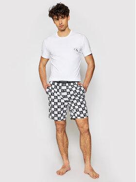 Calvin Klein Underwear Calvin Klein Underwear Szorty materiałowe 000NM2128E Czarny Regular Fit