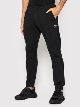 adidas adidas Παντελόνι φόρμας adicolor Essentials Trefoil H34657 Μαύρο Slim Fit