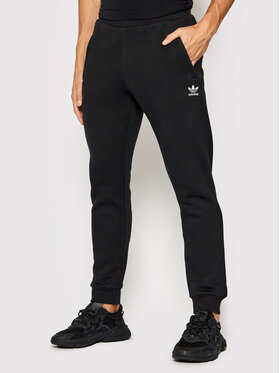 adidas adidas Spodnie dresowe adicolor Essentials Trefoil H34657 Czarny Slim Fit