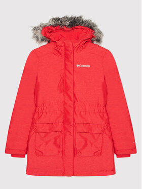 Columbia Columbia Parka Nordic Strider Jacket 15570616 Czerwony Regular Fit