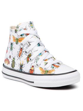Converse Converse Sneakers aus Stoff Ctas Hi 670704C Weiß