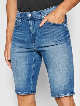 Calvin Klein Calvin Klein Szorty jeansowe K10K107212 Niebieski Slim Fit