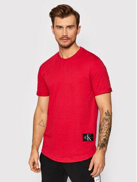 Calvin Klein Jeans Calvin Klein Jeans T-Shirt J30J315319 Czerwony Regular Fit