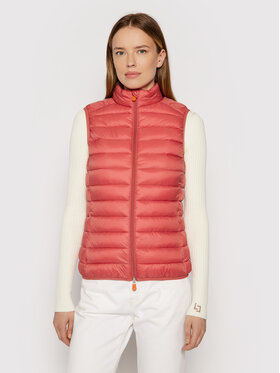 Save The Duck Save The Duck Gilet D88040W GIGA13 Rosa Regular Fit
