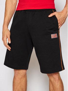 EA7 Emporio Armani EA7 Emporio Armani Pantaloncini sportivi 3KPS55 PJ05Z 1200 Nero Regular Fit