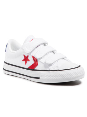 Converse Converse Sneakers aus Stoff Star Player 3v Ox 670227C Weiß