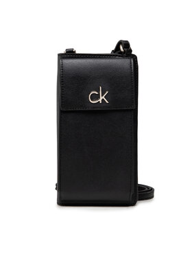Calvin Klein Calvin Klein Geantă Re-Lock Phone Xbody Card Wallet K60K608454 Negru
