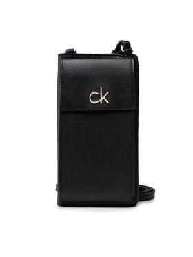 Calvin Klein Calvin Klein Rankinė Re-Lock Phone Xbody Card Wallet K60K608454 Juoda