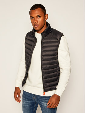Save The Duck Save The Duck Gilet D8241M GIGAY Nero Regular Fit