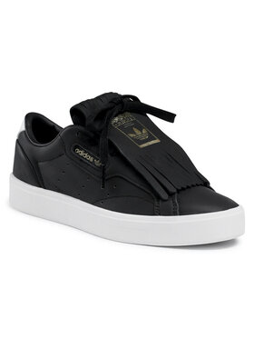adidas adidas Обувки Sleek W FY5056 Черен