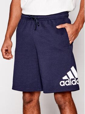 adidas adidas Pantaloni scurți sport M Mh BoSShortFt FM6349 Bleumarin Standard Fit