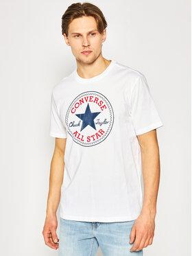 Converse Converse T-Shirt Chuck Pack 10007887-A04 Biały Regular Fit