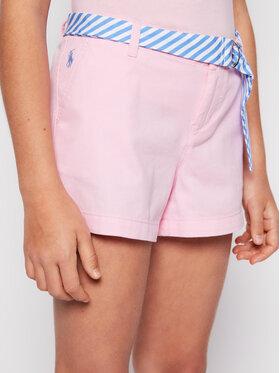 Polo Ralph Lauren Polo Ralph Lauren Bavlnené šortky Solid Chino 313786044 Ružová Regular Fit