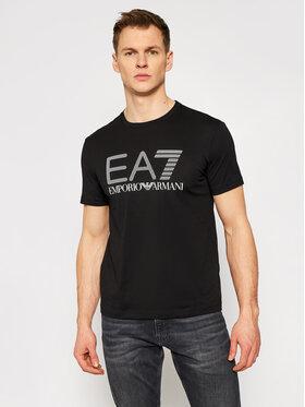 EA7 Emporio Armani EA7 Emporio Armani T-Shirt 3KPT81 PJM9Z 1200 Černá Regular Fit