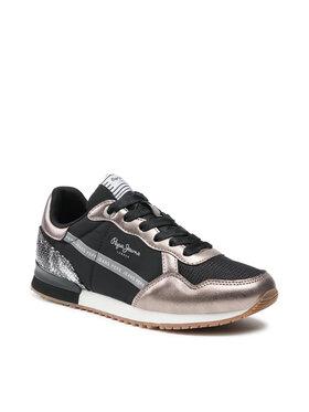 Pepe Jeans Pepe Jeans Sneakersy Archie Top PLS31205 Černá