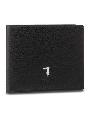 Trussardi Trussardi Velká pánská peněženka Trifold Tumbled 71W00006 Černá