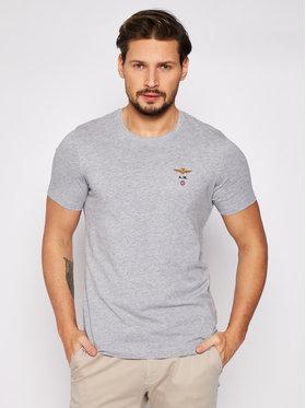 Aeronautica Militare Aeronautica Militare T-Shirt 211TS1580J372 Grau Regular Fit