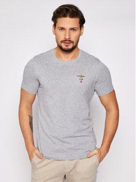 Aeronautica Militare Aeronautica Militare T-shirt 211TS1580J372 Gris Regular Fit