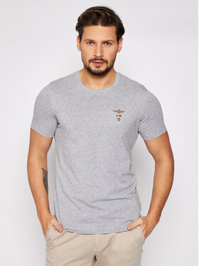 Aeronautica Militare Aeronautica Militare T-shirt 211TS1580J372 Siva Regular Fit