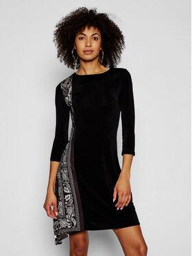 Desigual Desigual Kasdieninė suknelė Los Angeles 21SWVK42 Juoda Slim Fit
