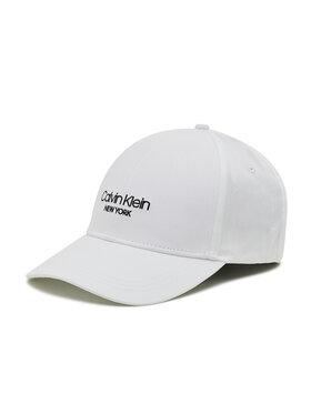 Calvin Klein Calvin Klein Czapka z daszkiem Bb Cap K50K506037 Biały