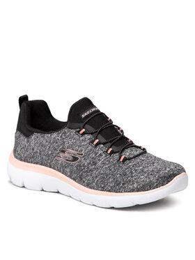 Skechers Skechers Schuhe Quick Getaway 12983/BKCL Grau