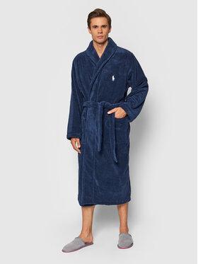 Polo Ralph Lauren Polo Ralph Lauren Szlafrok 714853990001 Granatowy