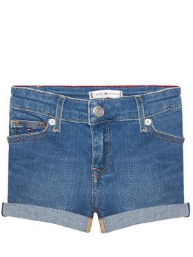 Tommy Hilfiger Tommy Hilfiger Pantaloni scurți de blugi Nora Basic KG0KG05773 M Albastru Skinny Fit