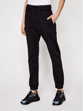 Sprandi Sprandi Teplákové kalhoty SS21-SPD004 Černá Regular Fit