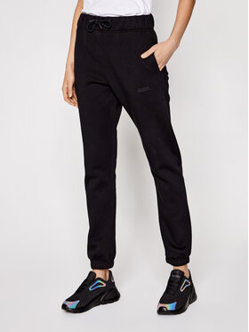 Sprandi Sprandi Teplákové nohavice SS21-SPD004 Čierna Regular Fit